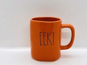 Rae-Dunn-Halloween-Fall-By-Magenta-Spooky-Orange-EEK-Ceramic-LL-Coffee-Mug
