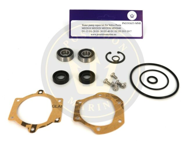 Water Pump Kit For Volvo Penta Md11 Md17 Md2010 Md2020 Md2030 D1 13 D1 20 D1 30