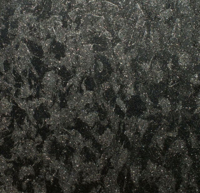 Waterproof Black Silver Glitter Wallpaper Give Your Bathroom Some