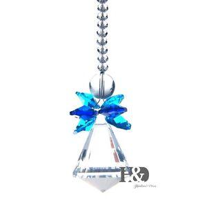 Clear-Crystal-Chandelier-Prisms-Feng-Shui-Hanging-Suncatcher-Handcrafts-Wedding
