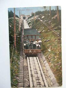 Ansichtskarte-Wildbad-um-1900-Bergbahn-mit-Personen-Bahn