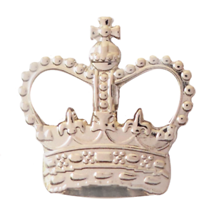 United Kingdom UK St Edward/'s Crown Nickel Pin Badge