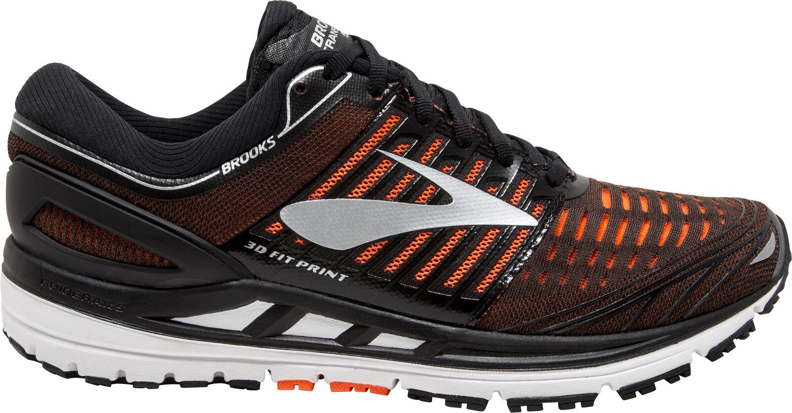 Brooks Transcend 5 mannenu's hardlopen schoenen --zwart