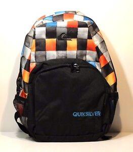 QuickSilver Backpack Detension,Colo<wbr/>r Black/Multicol<wbr/>or (KSQ6), Style 7153040202