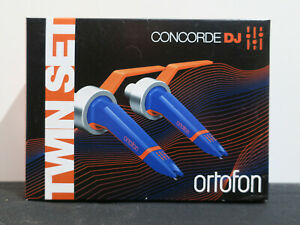 ORTOFON-Concorde-MkII-039-DJ-039-Cartridge-Stylus-Twin-Set-BOXED-NEW