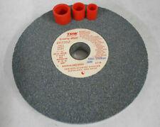 "2 TRW Bench Grinding Wheels 7/"" x 3//4/"" one Medium Wheel and one Fine Wheel"