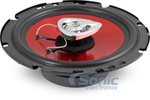 """4 New BOSS CH6500 6.5/"""" 2-Way 100W Slim Mount Car Coaxial Speakers Audio Stereo"""