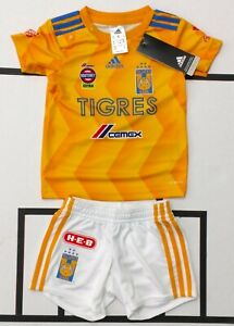 ADIDAS-TIGRES-UANL-JERSEY-LOCAL-HOME-2018-2019-BABY-KIT-UNISEX-CD6009-NWT