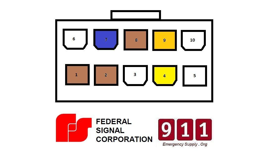 Surprising Federal Pa300 10 Pin Wiring Diagram Online Wiring Diagram Wiring Digital Resources Funapmognl