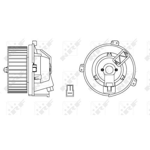 Intérieur Ventilateur AD 34168