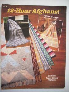 Harvest of 12 Hour afghans crochet patterns