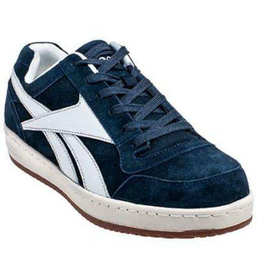 Reebok Steel Toe Work shoes EH Rated Slip Resistant Navy in 7 to 15