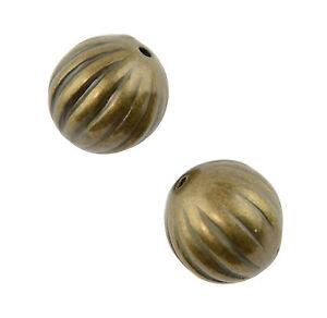 25pcs-Gold-Coloured-Plastic-Round-Beads-12mm-37887-35