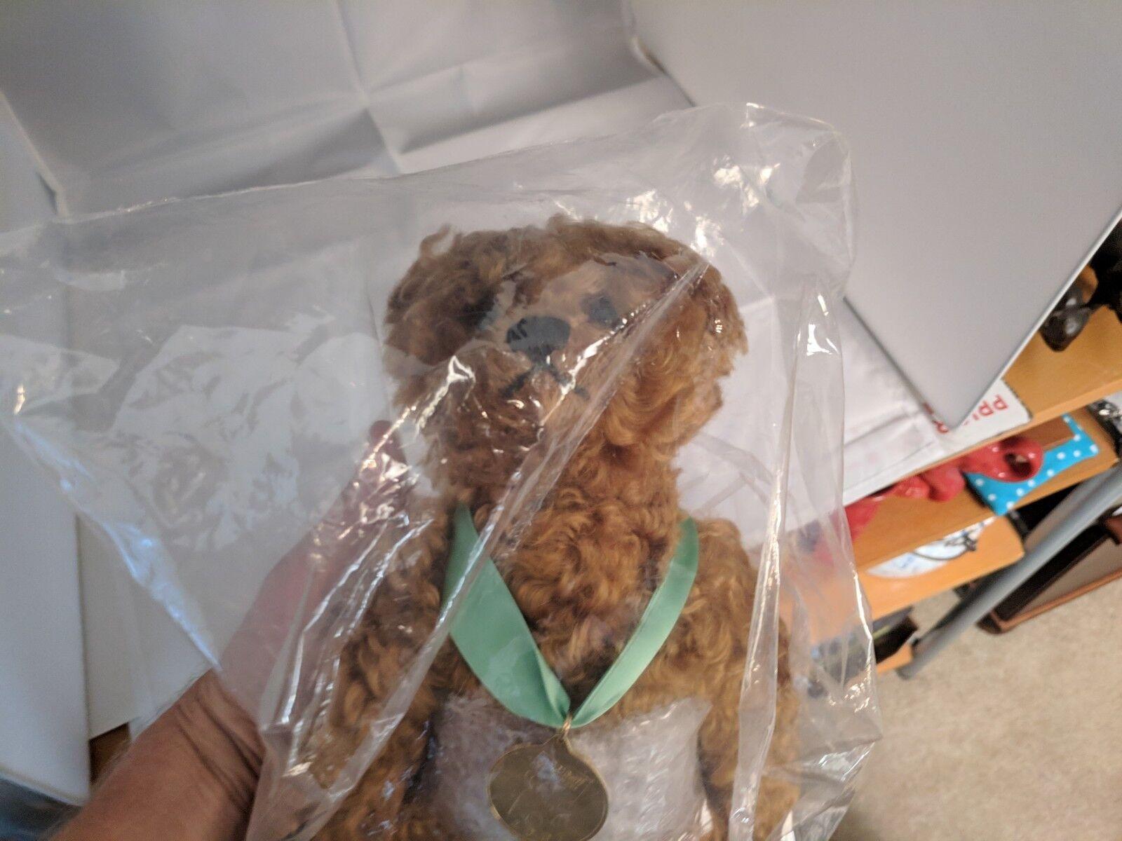 Steiff 2007 Classic Jointed Teddy Bear, Marronee-669521 Still Sealed in Bag