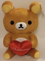 2016 Round 1 San-x Co Large 15 Rilakkuma Plush / Stuffed Japanese Bear