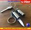 Silver-Bullet-Knife-keyring-knife-folding-Knife-Keyring-Camping-Knife-S-Steel thumbnail 1