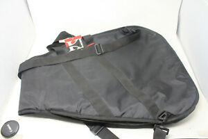 Kaces III Soft Black Guitar Carrying Case w/ Pocket Handles & Strap - New w/ Tag