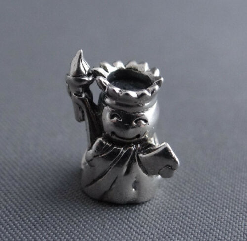 Sterling Silver .925 Statue of Liberty European Charm Bead