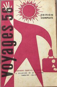 CréAtif Voyages 56 + Fasicule Hors Série Voyages Et Croisières En U.r.s.s - 1956 - Un Style Actuel