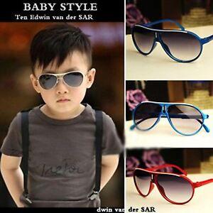 Kids Boys Girls Designer Style Sunnies Childrens Classic Aviator Sunglasses