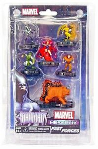 Marvel Heroclix Guardians of The Galaxy Fast Forces 6 Figure Pack