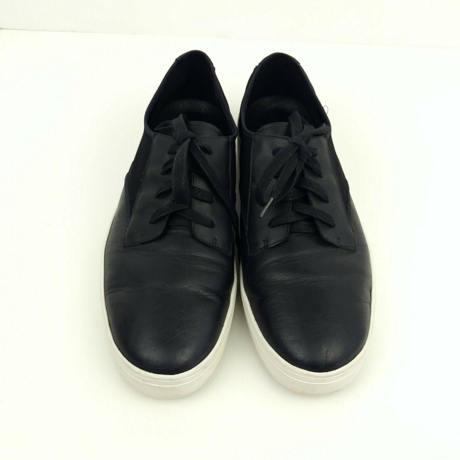 Eileen Fisher para mujer Talla 11 Zapatos Zapatos Zapatos Tenis De Cuero Negro Oxford mínima  alta calidad