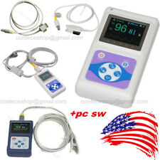 Handheld Oled Spo2 Oximeter Blood Oxygen Adult Infant Vet O2 Patient Monitorsw