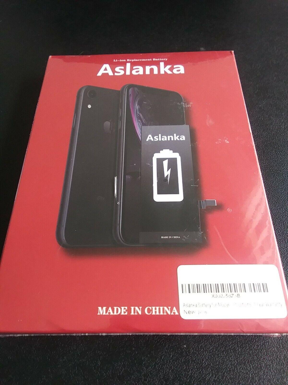 ASLANKA Li-ion Replacment Battery for I-PHONE 6 - 1 Year Warranty / NEW Sealed