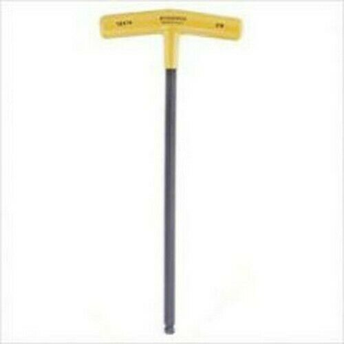"""5mm Hex Ball End T-Handle Wrench 9.7/"""" Long Bondhus® USA #13164"""