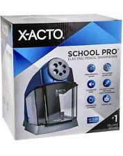 X Acto School Pro Classroom Electric Pencil Sharpener Blue 1670 New