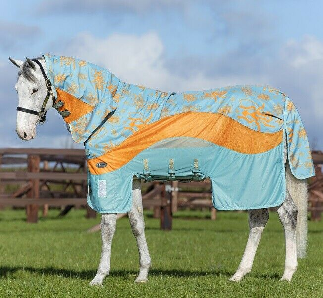 Pferdo 24 Amigo 3in1 Evolution Horseware mouches couverture étanche prougeection UV Acy