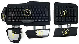8b8514d13fd Image is loading Replacement-Parts-for-Mad-Catz-Gaming-Keyboard-S-T-R-I-K-E-