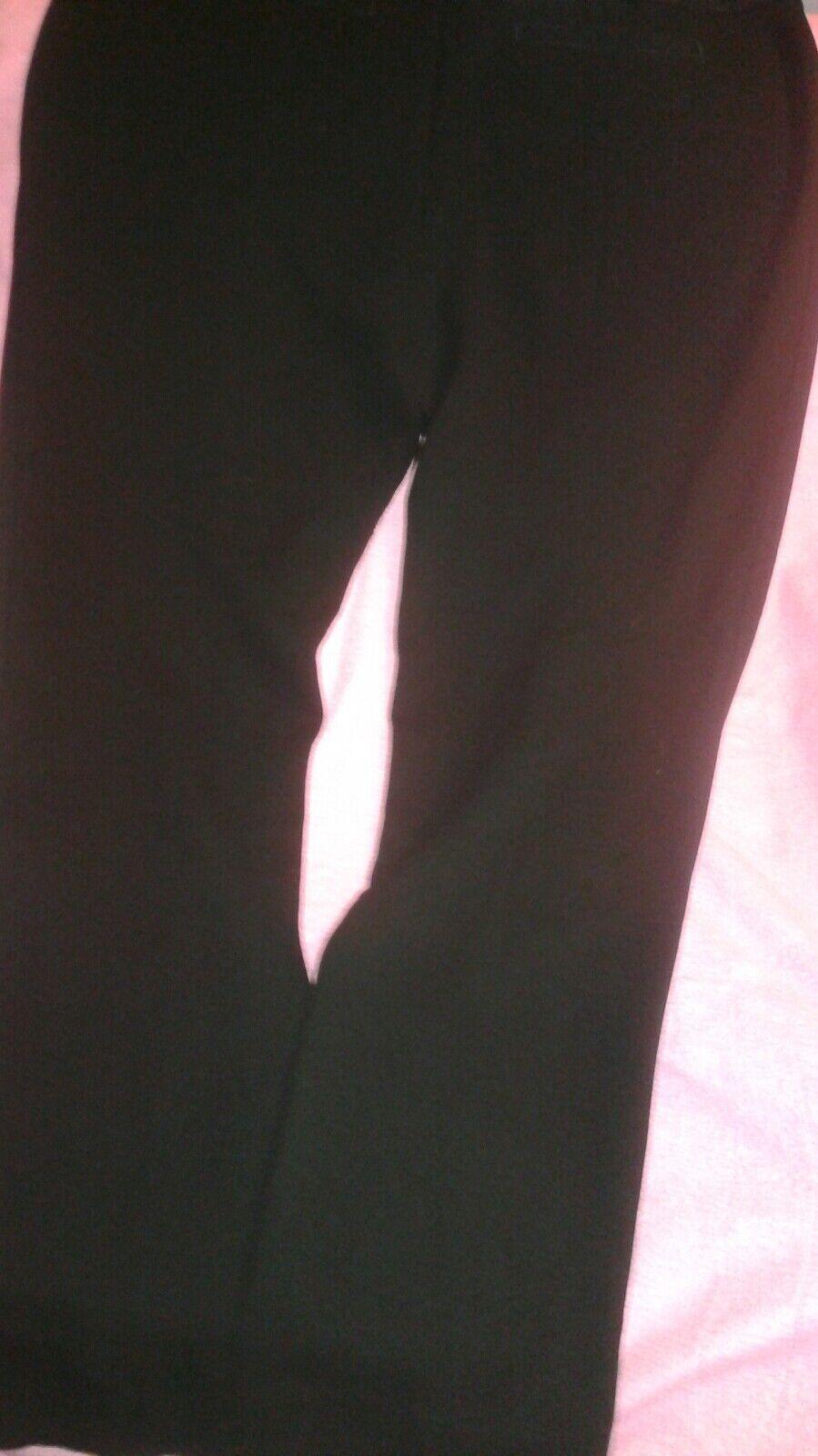 Tory Burch Damen Sz 10 Schwarz Hosen Hose