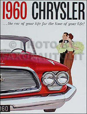 1949 Chrysler New Yorker Saratoga Windsor Original Car Sales Brochure