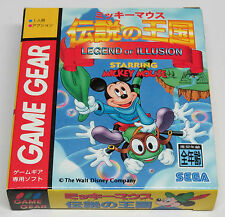 Legenda di illusione interpretata da TOPOLINO Game Gear JAPAN JPN World Brand New