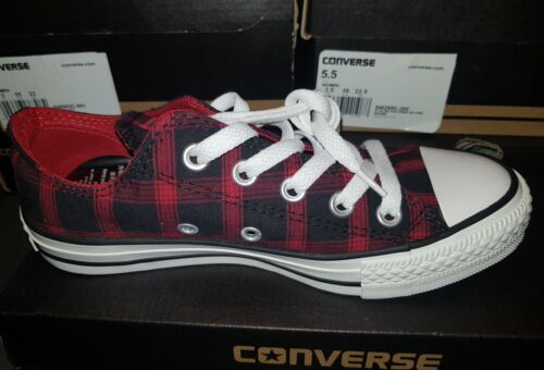 5 All Tamaño Pimiento Uk deporte Low 4 Converse Zapatillas Check Star chile Ox rojo de Bnib Negro FqgdfxZdw