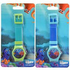 2x Disney Finding Dory Nemo Digital LCD Wrist Watch Party Stocking Stuffer