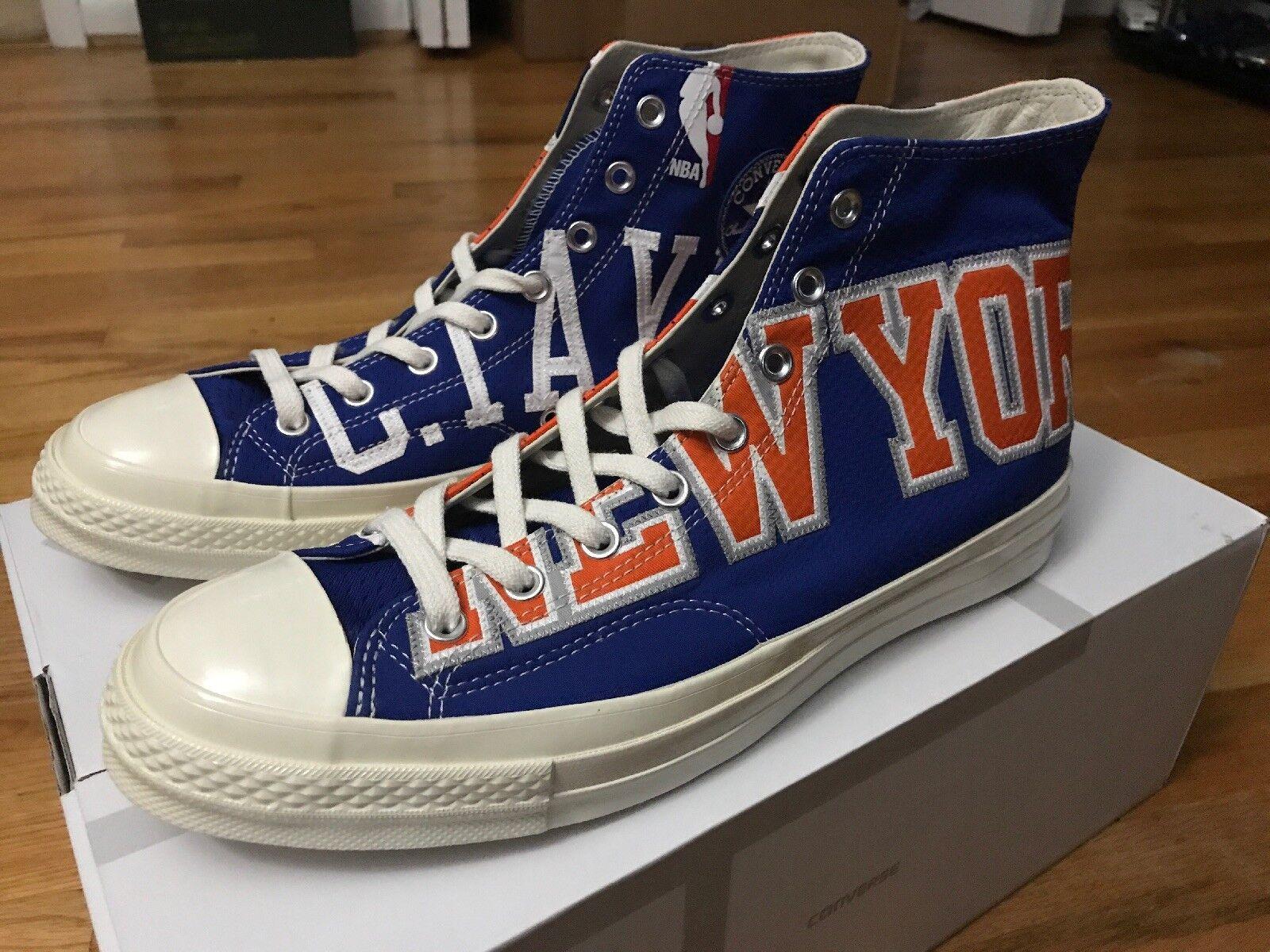Converse Chuck Taylor All Star 70 New York Knicks Gameday Jersey High Top blu