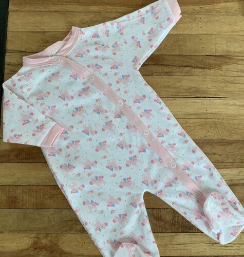 56 62 68 Einhorn rosa weiß Baby Mädchen Set 3-teilig Strampler Mütze Latz Gr
