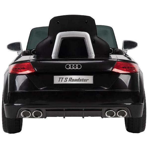 12V Audi Electric Battery-Powered Ride-On Car for Kids, Black