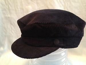 mens black green summer cotton cord corduroy bretton barge sailing fiddler cap