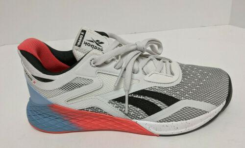 Reebok Nano X Training Shoes, White, Women's 9 M