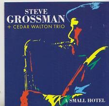 STEVE GROSSMAN + CEDAR WALTON TRIO   CD A SMALL HOTEL