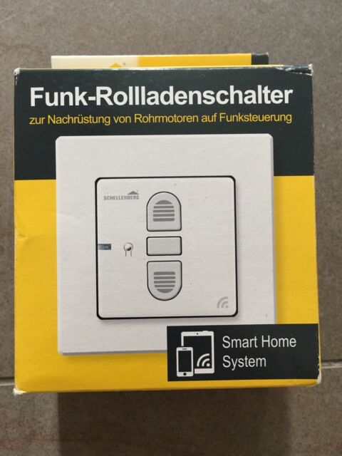 Schellenberg 20030 Funk-Rolladenschalter Unterputz - Weiß ...