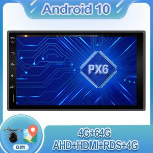 "7""Autoradio Autoradio GPS Navi 1 Din Android 10 BT USB WIFI 4G DAB Für Universal"