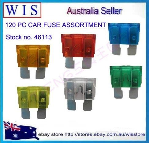 2 in 1 Set 240 PCS Standard /& Mini Blade CAR FUSE ASSORTMENT 5-30 AMP
