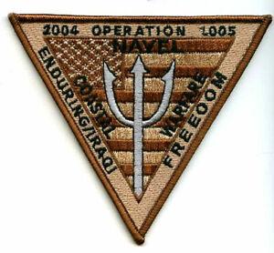 États-unis Marine Patch Brodé 2005-2005 Côtier Guerre Enduring Freedom Nut8vdgo-07214143-379566118