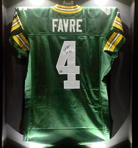 separation shoes dac4f 4ed2a Details about Brett Favre Game Worn Used Signed Packers NFL Football Jersey  BF LOA HOF SB XXXI