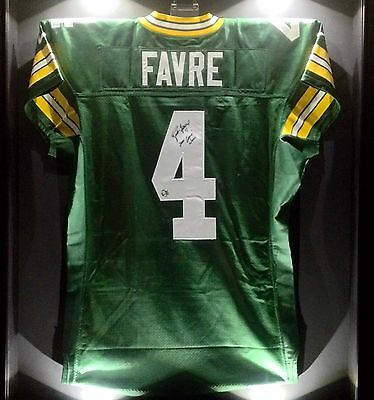 Brett Favre Game Worn Used Signed Packers NFL Football Jersey BF LOA HOF SB XXXI