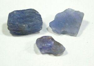 Natural Earth mined Tanzanite Gemstone Raw Rough lot